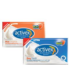 Туалетное мыло Activex Duo